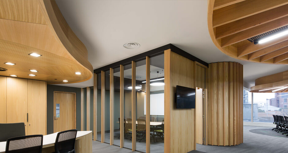 interior case study for melbourne uni law by yarra valley commercial